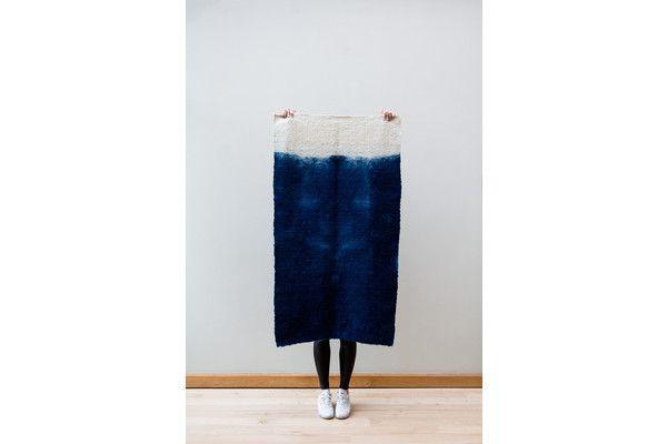 Handmade Wool Rug | Vinterior London >> #wool #contemporary