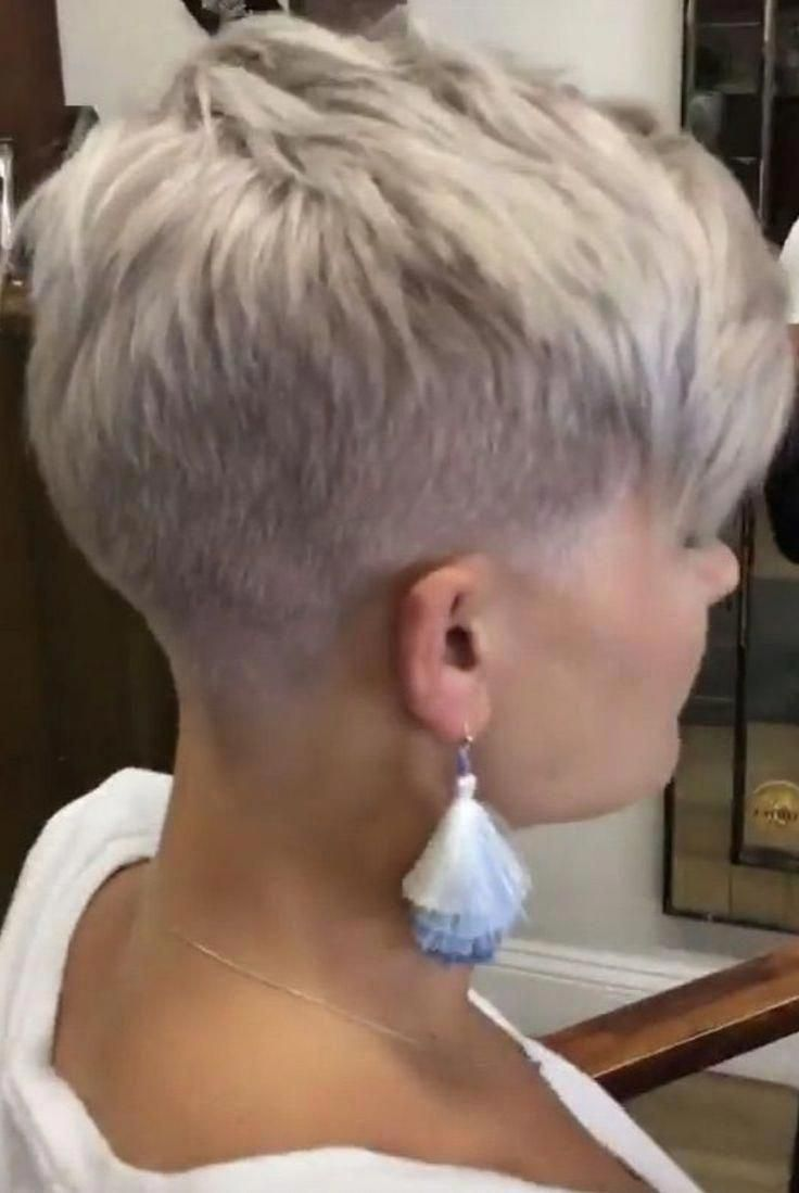 Short hair - #short - #frisuren #shortpixie #shortblondepixie