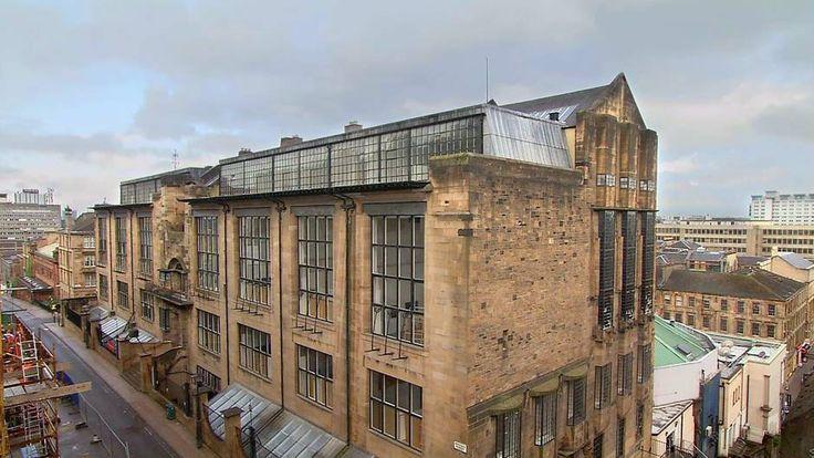 ecole d'art de glasgow, par Charles Rennie Mackintosh Architectures | ARTE