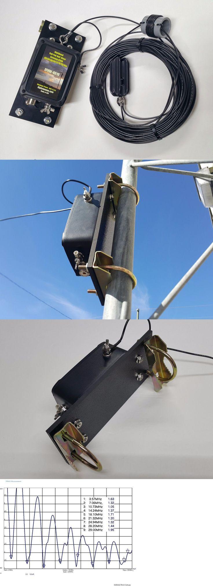 Ham Amateur Radio Antennas: Hf End Fed Antenna Efhw-8010-1K / Installation-Plate / Low Swr/ 130 Feet Long -> BUY IT NOW ONLY: $154.99 on eBay!