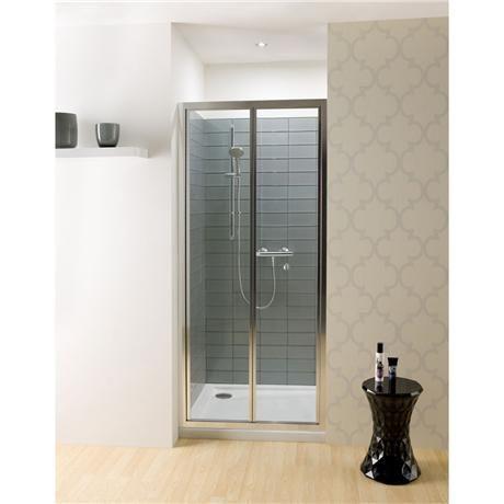 cheap bifold shower doors