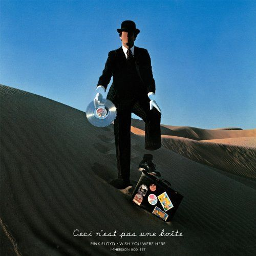 pink floyd album covers | Album Cover, Pink Floyd Wish You Were Here Immersion Box Set CD Cover ...