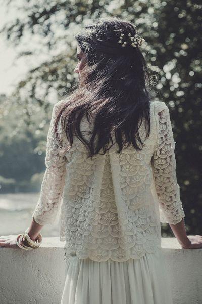 EN IMAGES. Dix robes de mariée de la collection 2015 Laure de Sagazan - L'Express Styles