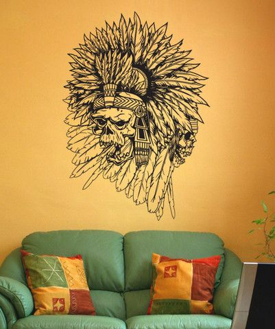 1000 ideas about indian skull on pinterest indian head for Aztec mural tattoos
