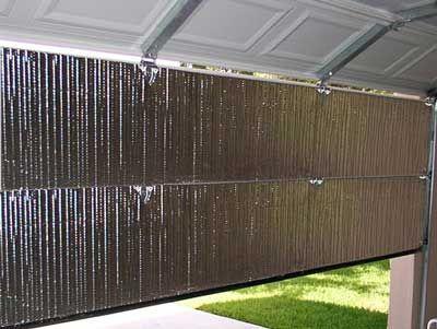 Radiant Barrier Bubble Insulation for Garage Door