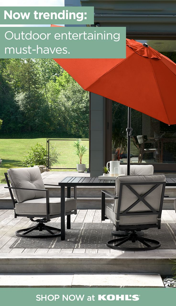 find patio furniture and decor at kohl