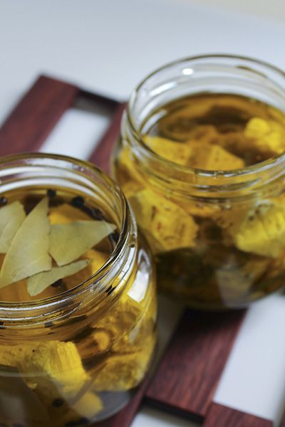 Marinated Feta   The Wooden Spoons