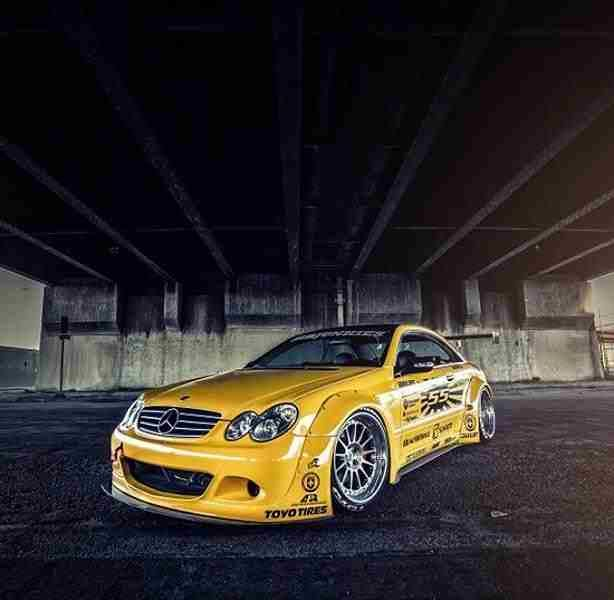 Get a Load of This #Sarto #Racing #Mercedes CLK 63 #AMG Kit http://www.benzinsider.com/2015/06/get-a-load-of-this-sarto-racing-mercedes-clk-63-amg-kit/