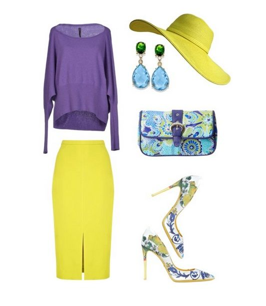 Цветовые палитры четырех цветотипов внешности! Примеры сочетания и комбинирования цвета в одежде!