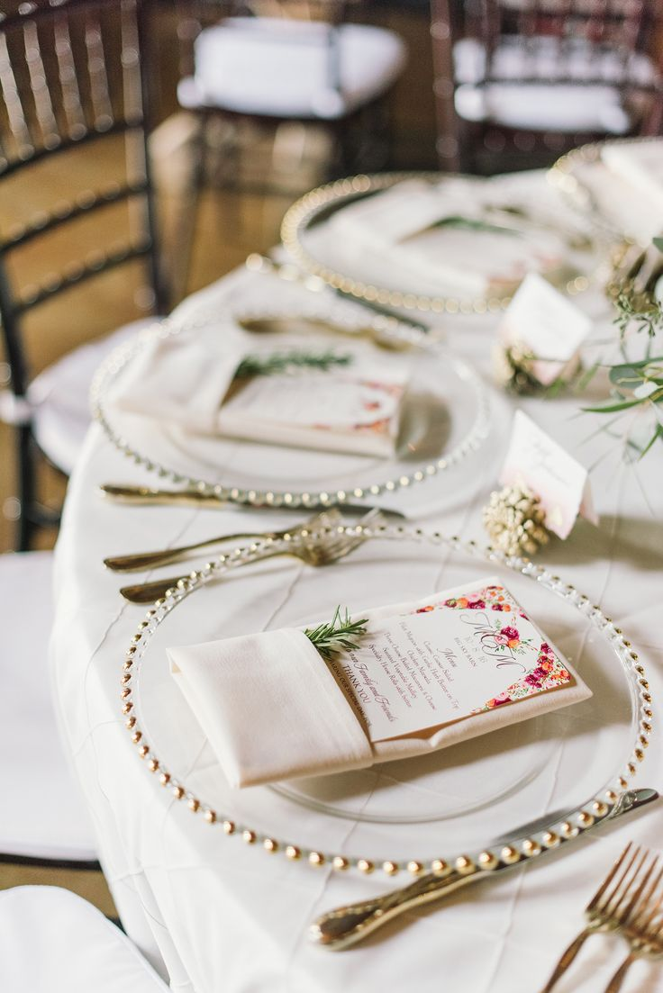 fun and funky wedding place settings - Table Decor