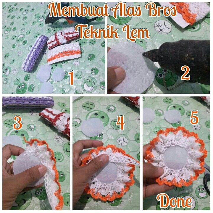 For brooch layer