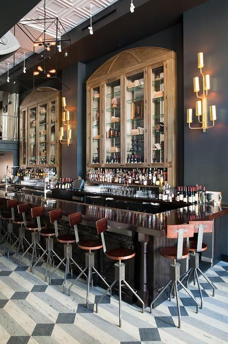 Wood and Vine Bar by Kenneth Brown Design