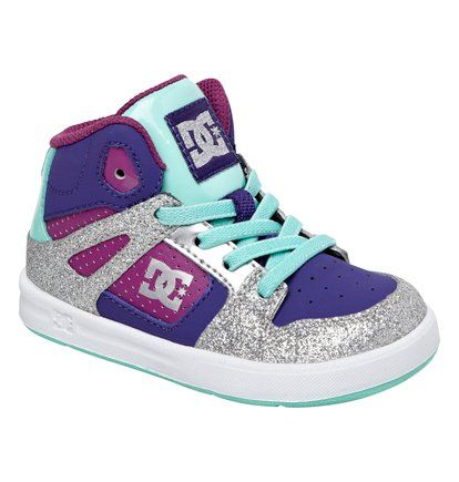 Rebound Ul  320167  Toddler DC trainers!