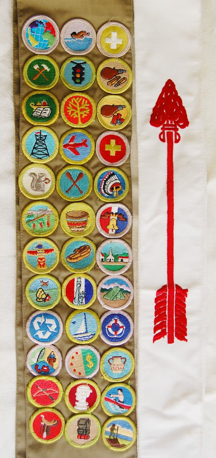 Best 25 boy scout sash ideas on pinterest boy scout badges meritbadgesash order of the arrow sash on the right boy scout badgesboy scoutingmerit robcynllc Choice Image