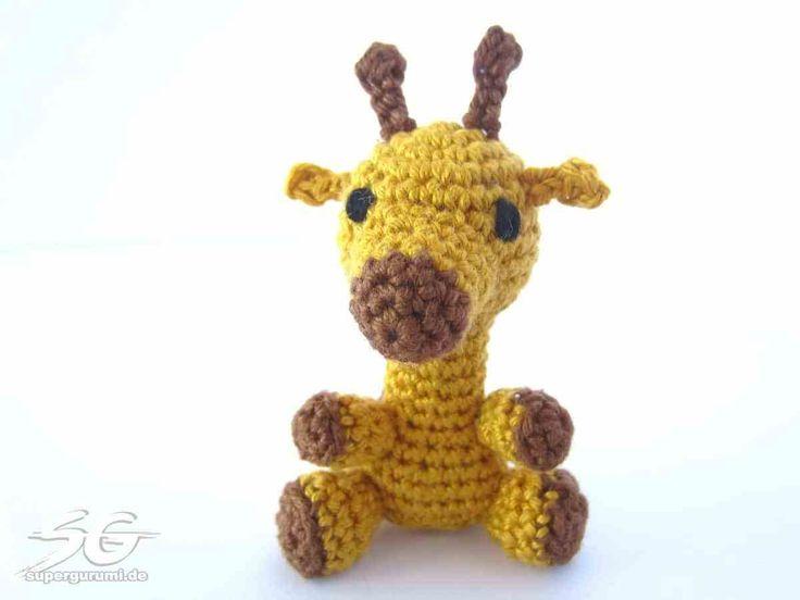 Amigurumi Giraffe Häkelanleitung