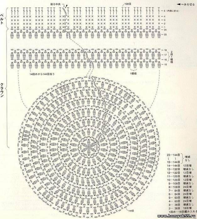 Mejores 118 imágenes de Accesorios. crochet en Pinterest | Bolsos de ...