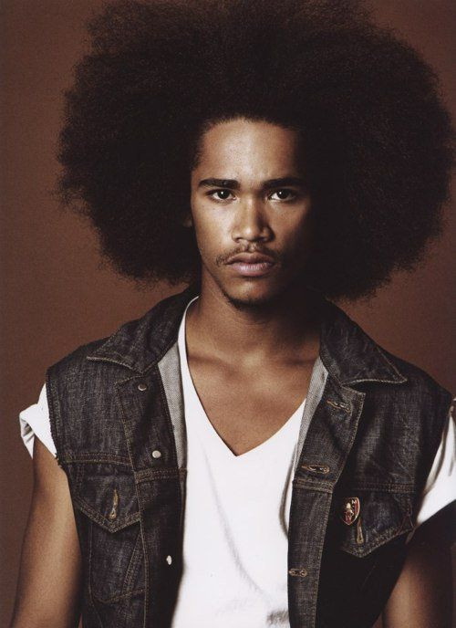 Natural Hair  Natural hair - Oh men in big hair.. Afro fashion styles. Beautiful people of the world. Love
