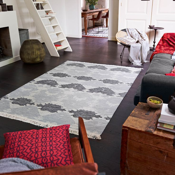 No Matter What The Decorative Elements In This Denim Batak Rug Remind You Of With Cape TownSpiritNo
