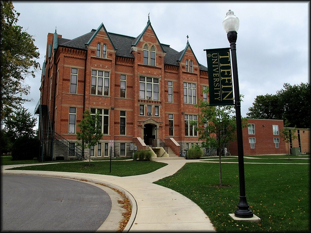 Tiffin University in Ohio (Surprised I found it on pinterest! Lol)