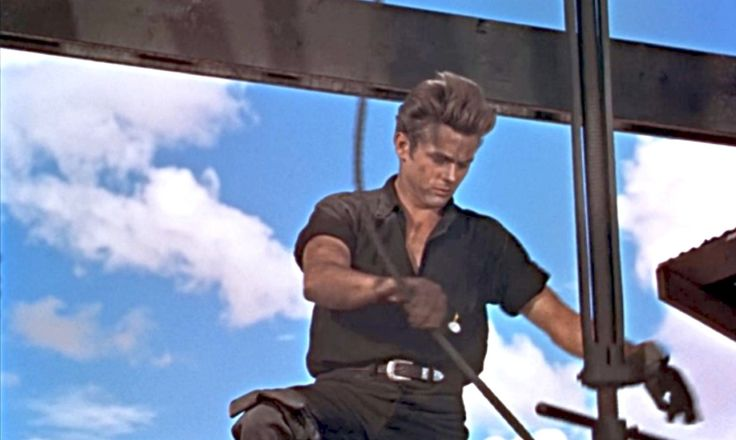 "James Dean in ""Giant"""
