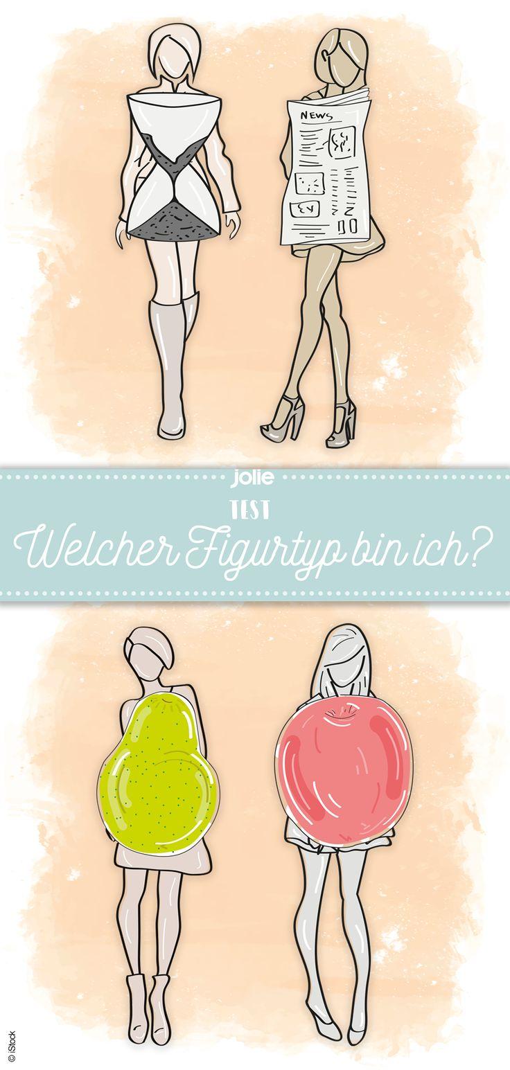 Apfel, Birne, Röhre oder Sanduhr? Welcher Figurtyp bin ich? #test