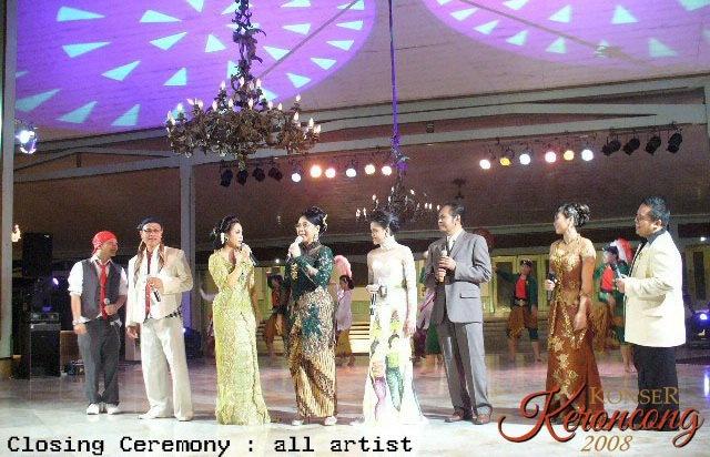 Konser Keroncong 2008