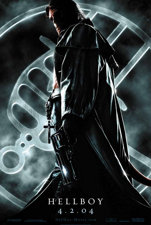 Hellboy Movie Poster #2 - Internet Movie Poster Awards Gallery