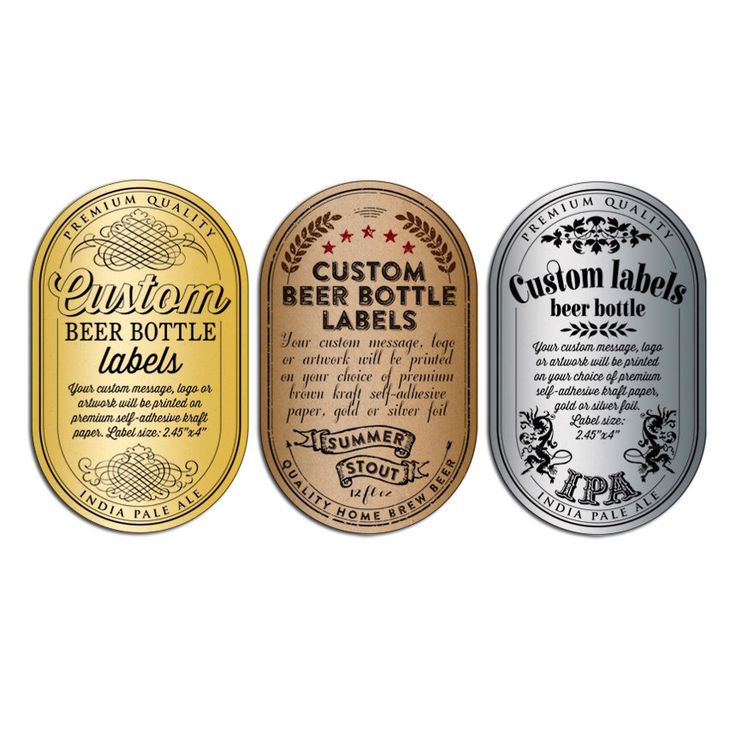Custom Beer Bottle Labels - Personalized Beer Labels by Artision on Etsy https://www.etsy.com/listing/157276273/custom-beer-bottle-labels-personalized