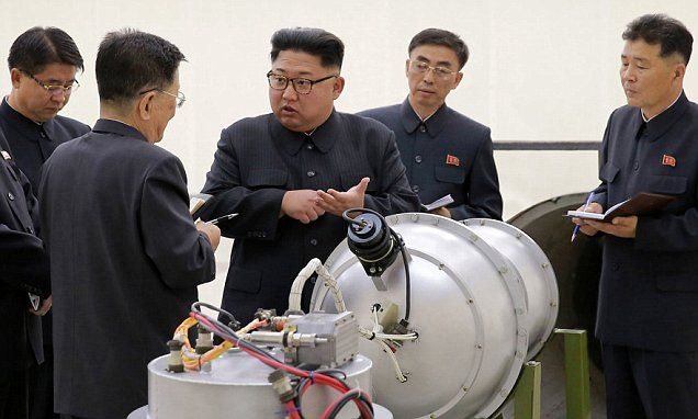 N Korea hit by 3.4 tremor but China says it's an explosion | Daily Mail Online