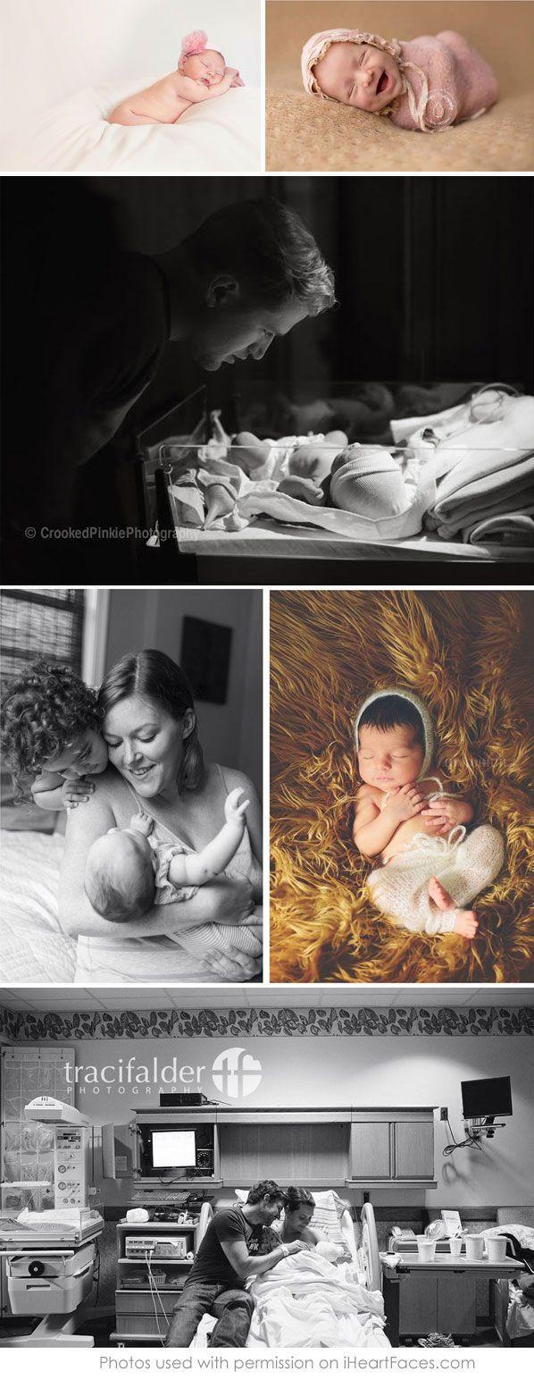 50 Beautiful Newborn Photos via iHeartFaces.com
