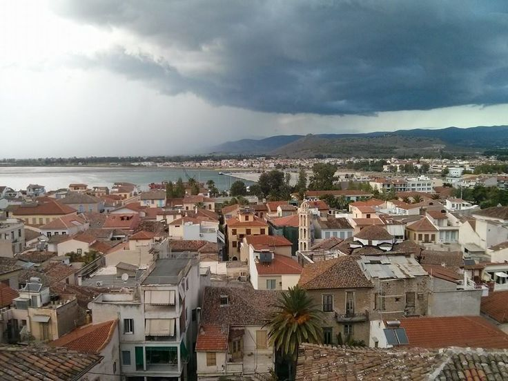 A cloudy day in Nafplio!