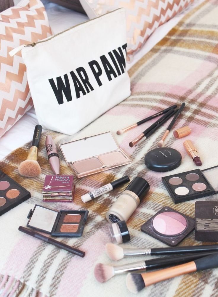 I ❤ that makeup bag!