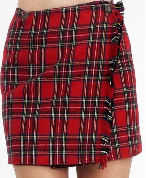 Women's Plaid Kilt