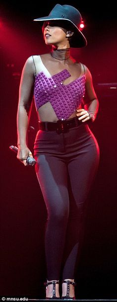 Alicia Keys from her concert tour