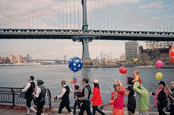 New York Happiness  By artist Andres Schlanbusch