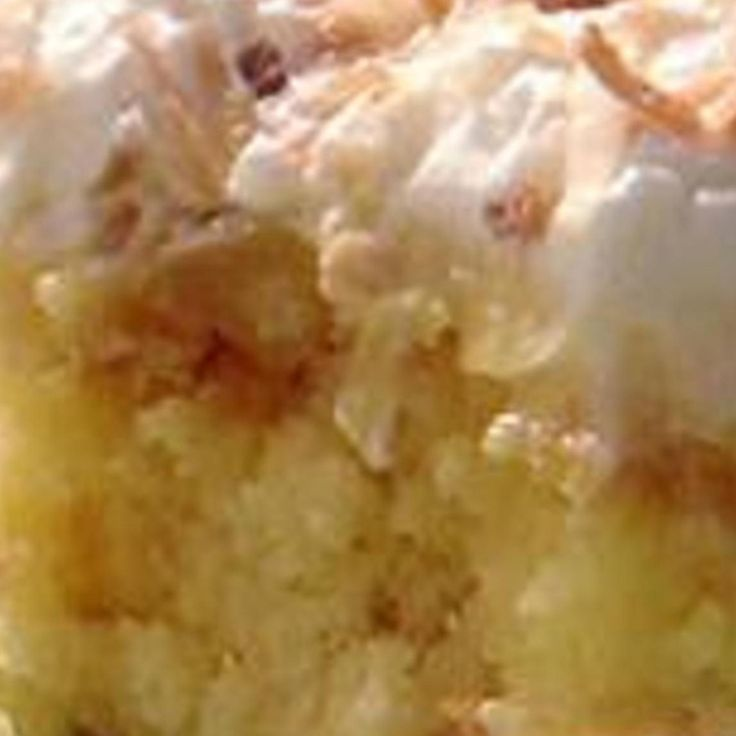 This cake recipe is quite old.  It used to be called Better than Robert Redford Cake.  I don't know why the name changed but, whatever!  This cake is very good and moist but most important, it is very easy to make.
