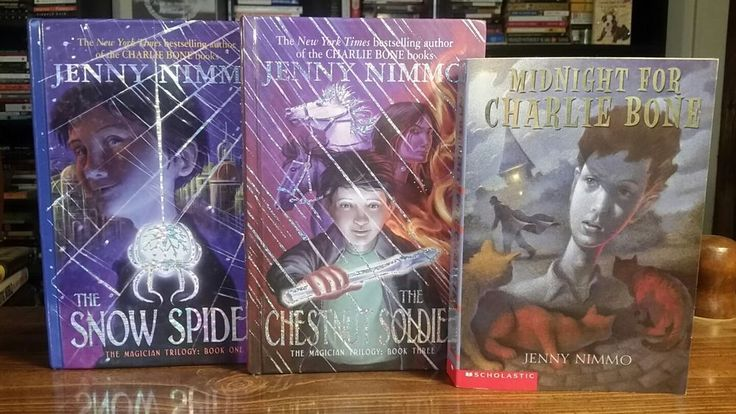 Lot of 3 Kids books by Jenny Nimmo : Snow Spider, Chestnut Soldier, Midnight...