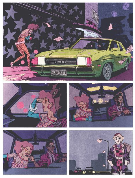 The Street Culture Graphic Novel Art of Ronald Wimberly - Core77