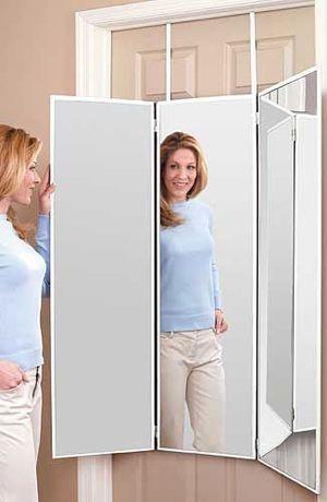 Over door mirror