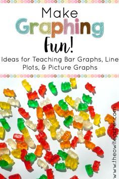Teaching graphing can be fun with these math workshop ideas! Check out these activities for teaching about bar graphs, line plots, and much more!