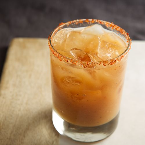 el tami | del maguey mezcal, tamarind purée, muddled orange, fresh ...