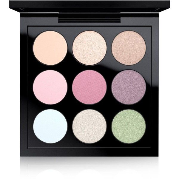 Mac Eye Shadow x 9 Palette: Pastel Times Nine ($32) ❤ liked on Polyvore featuring beauty products, makeup, eye makeup, eyeshadow, pastel times nine, mac cosmetics eyeshadow, mac cosmetics and palette eyeshadow