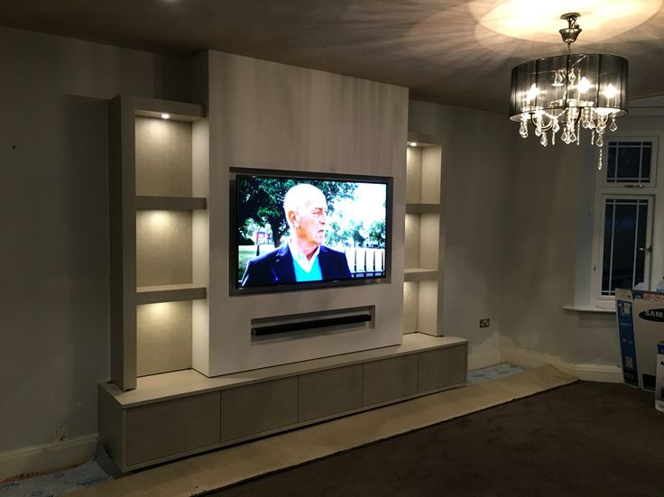 TV unit and lighting