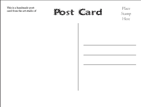 11 best Postcard \ envelope images on Pinterest Blog, Books and - postcard templates free
