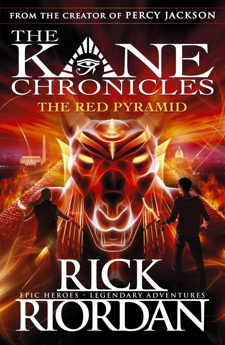 The Kane Chronicles: The Red Pyramid 2017 UK/AU cover