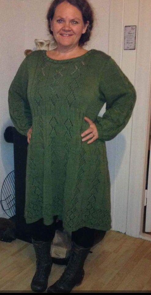 Pt kjole strikket i Bomull sport fra Sparkjøp