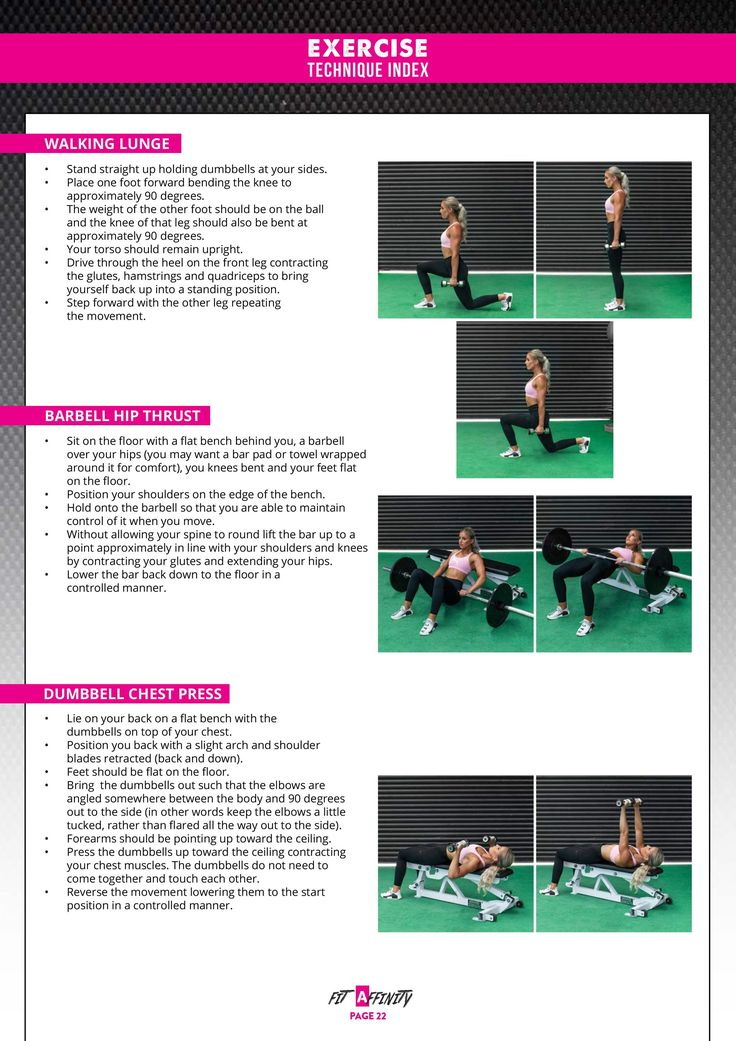 12 Week Gym Workout Plan – Summer body workouts
