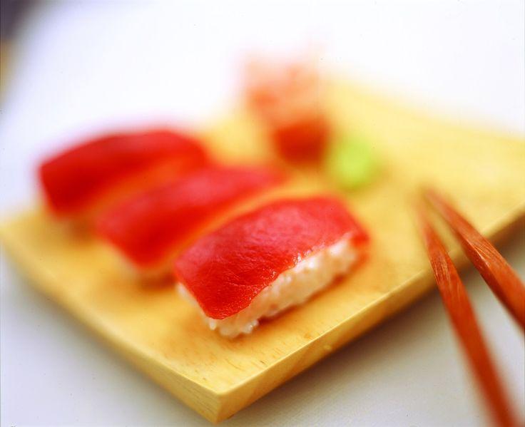 Tuna nigiri-zushi (Sushi & Sashimi Workshop)