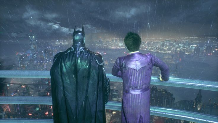 A (K)night on the town with the BFF [Screenshot] [Batman: Arkham Knight] #Playstation4 #PS4 #Sony #videogames #playstation #gamer #games #gaming