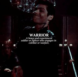 Warrior ... alexander 'alec' lightwood, matthew daddario, shadowhunters, the mortal instruments